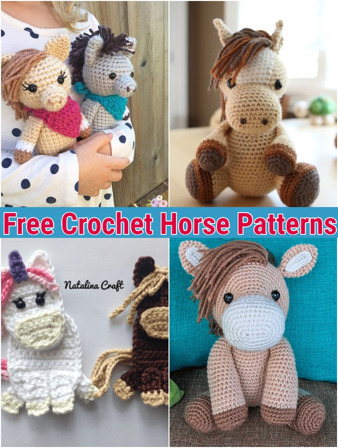 Crochet Donkey Tutorial - Crochet Applique Tutorial - YouTube | 900x680