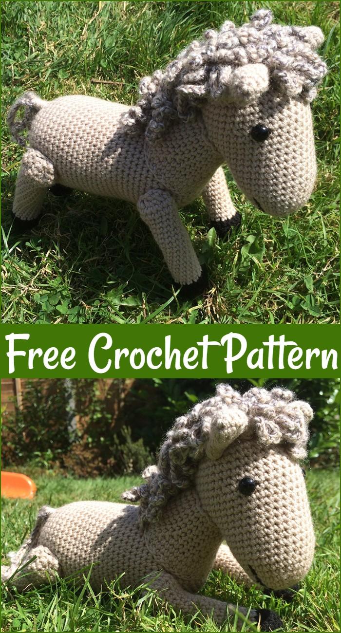 Free Crochet Horse