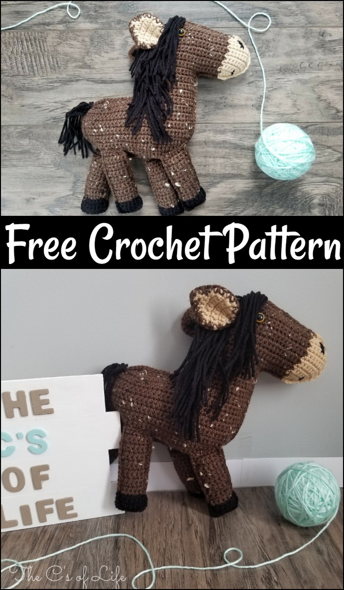 Free Crochet Hyero The Horse