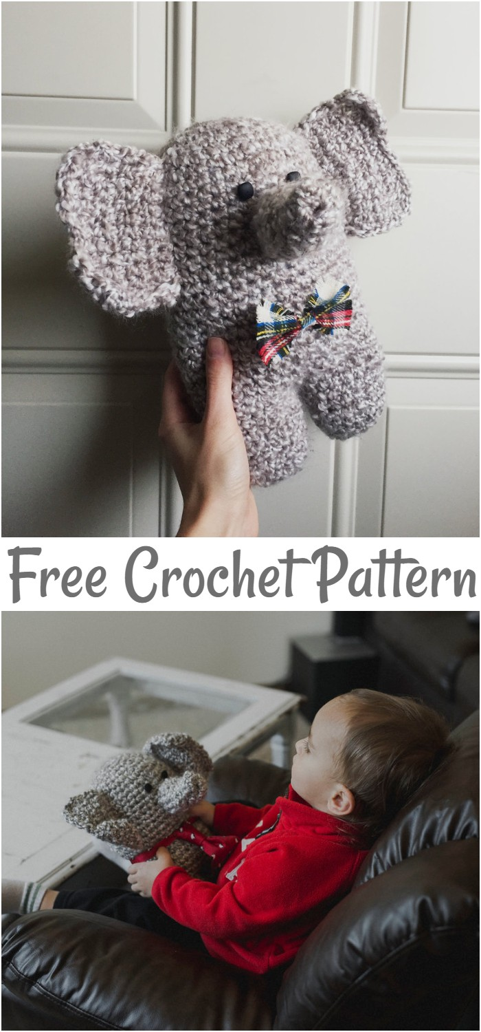 Free Pattern For Edgar The