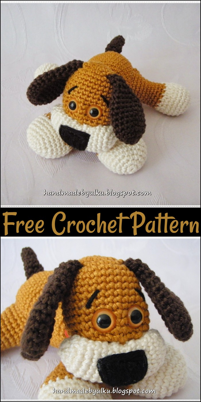 Free Crochet Pattern Sweet Dog