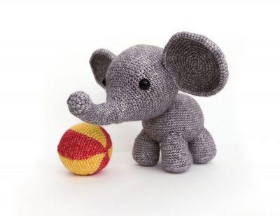 Oscar The Elephant Crochet Pattern