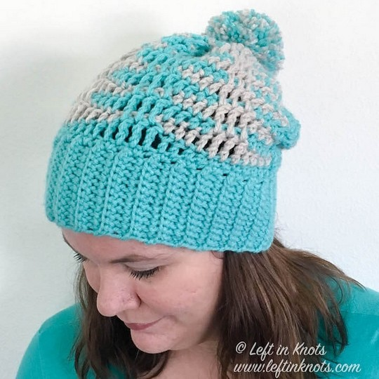Crochet Illusions Slouch Hat Free Pattern