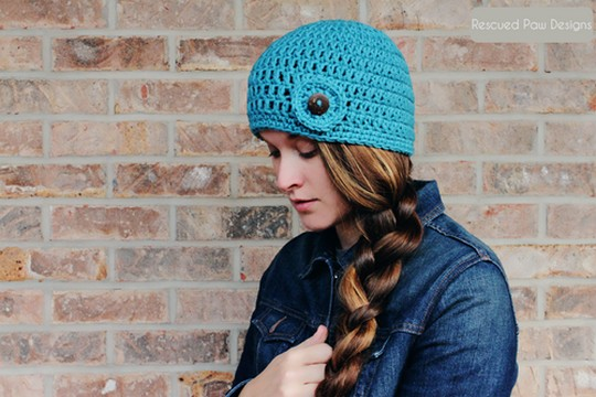 Double Crochet Beanie Pattern