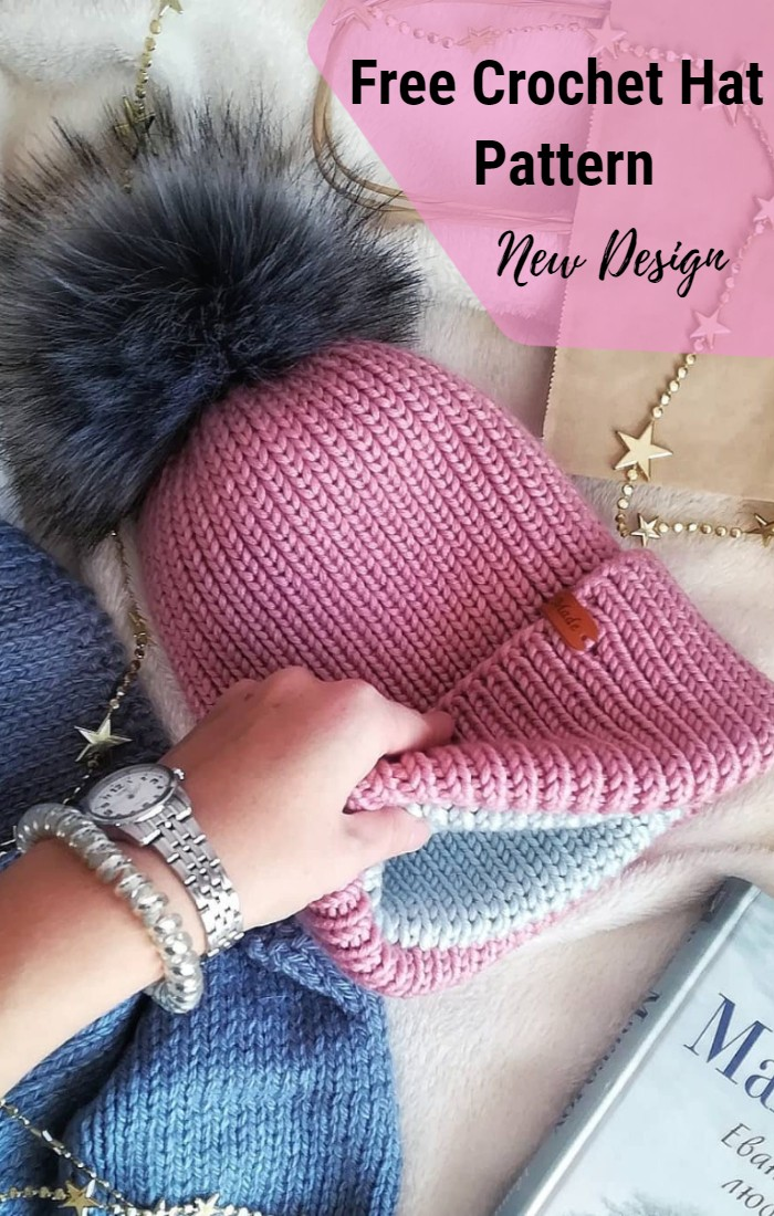 Free Crochet Hat Pattern: New Easy Crochet Pattern!