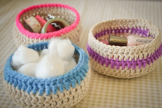 Loving Crochet Baskets