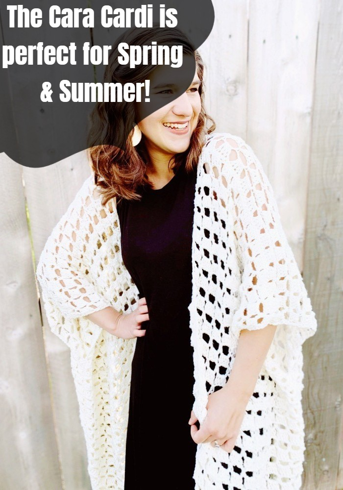 The Cara Cardi is perfect for Spring & Summer!