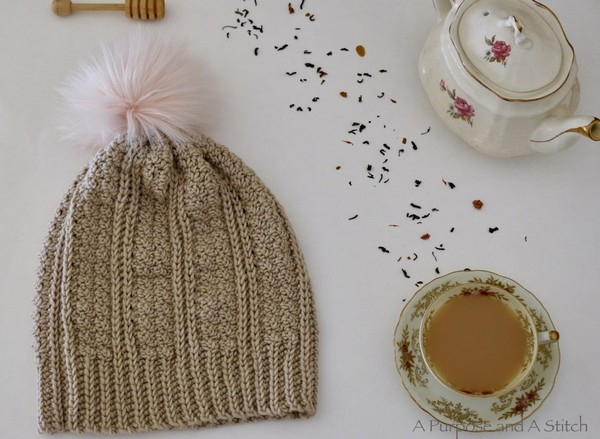 The Jennie Beanie Hat Free Crochet Pattern