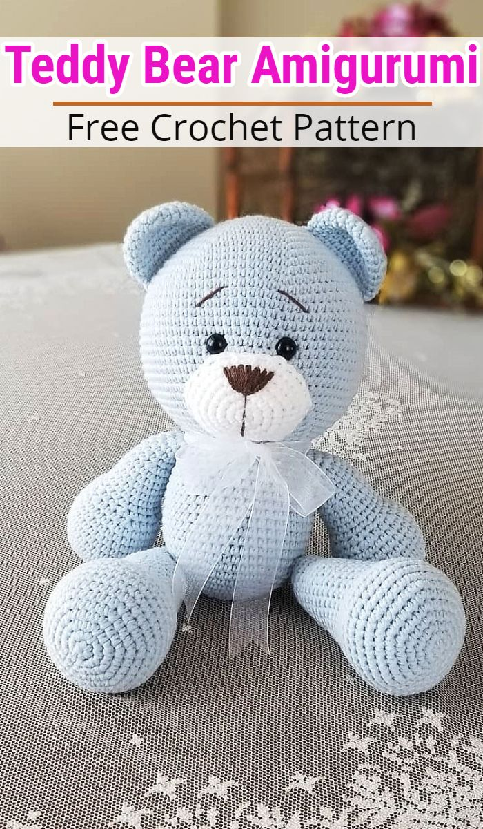 Amigurumi Teddy Bear Pattern | 1200x700