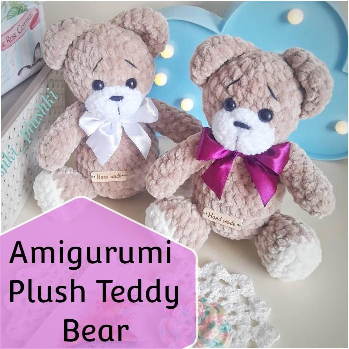 Amigurumi Plush Teddy Bear