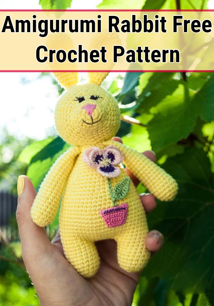 Amigurumi Rabbit Free Crochet Pattern