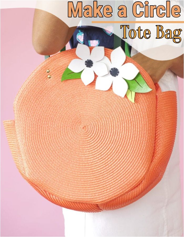 Make a Circle Tote Bag