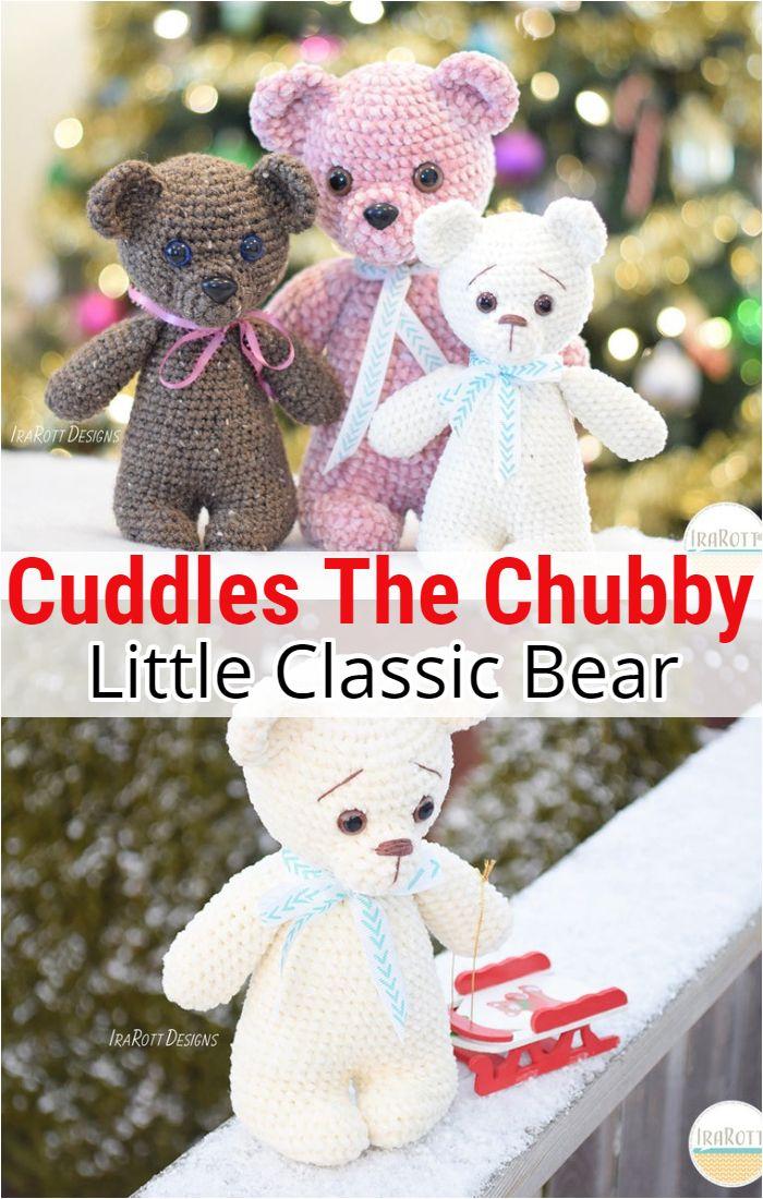 Cuddles The Chubby Little Classic Bear