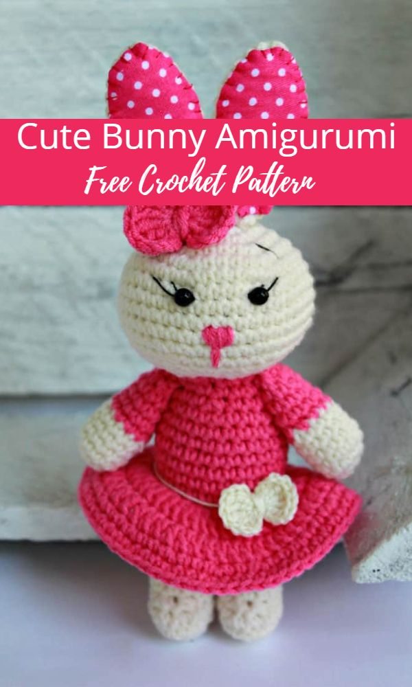 10 Free Bunny Crochet Patterns for Easter | 1000x600
