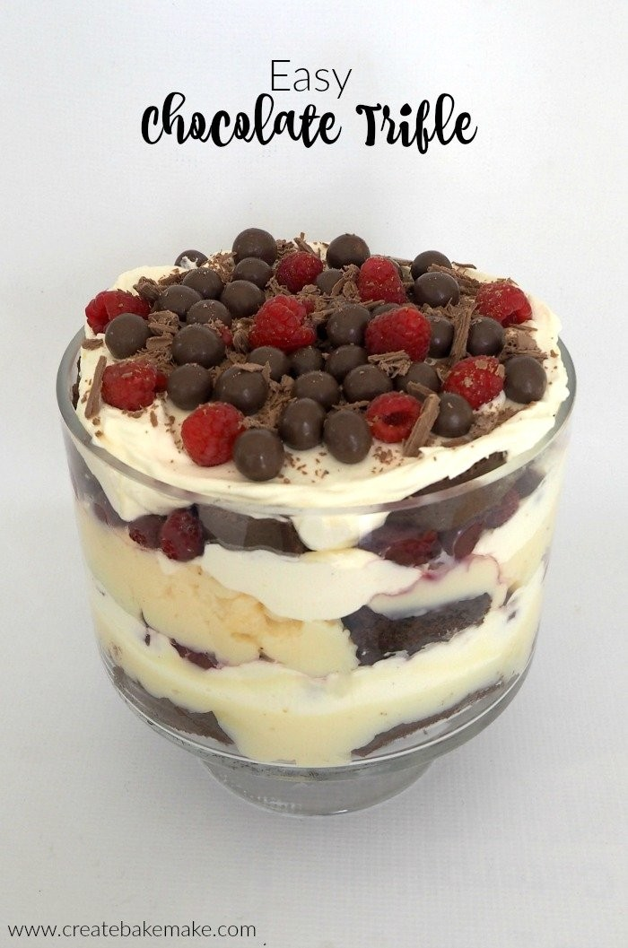 Easy Chocolate Trifle Recipe