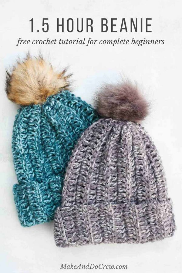 Free Crochet Hat Pattern For Beginners
