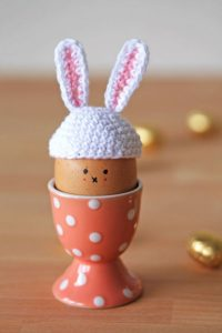 Free Crochet Pattern Bunny Egg Hat