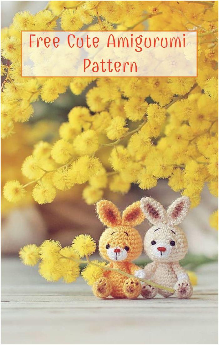 Free Cute Amigurumi Pattern