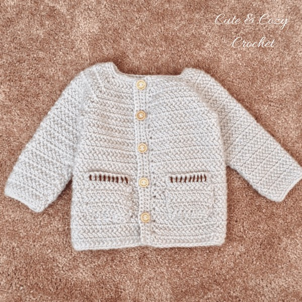 Herringbone Baby Sweater