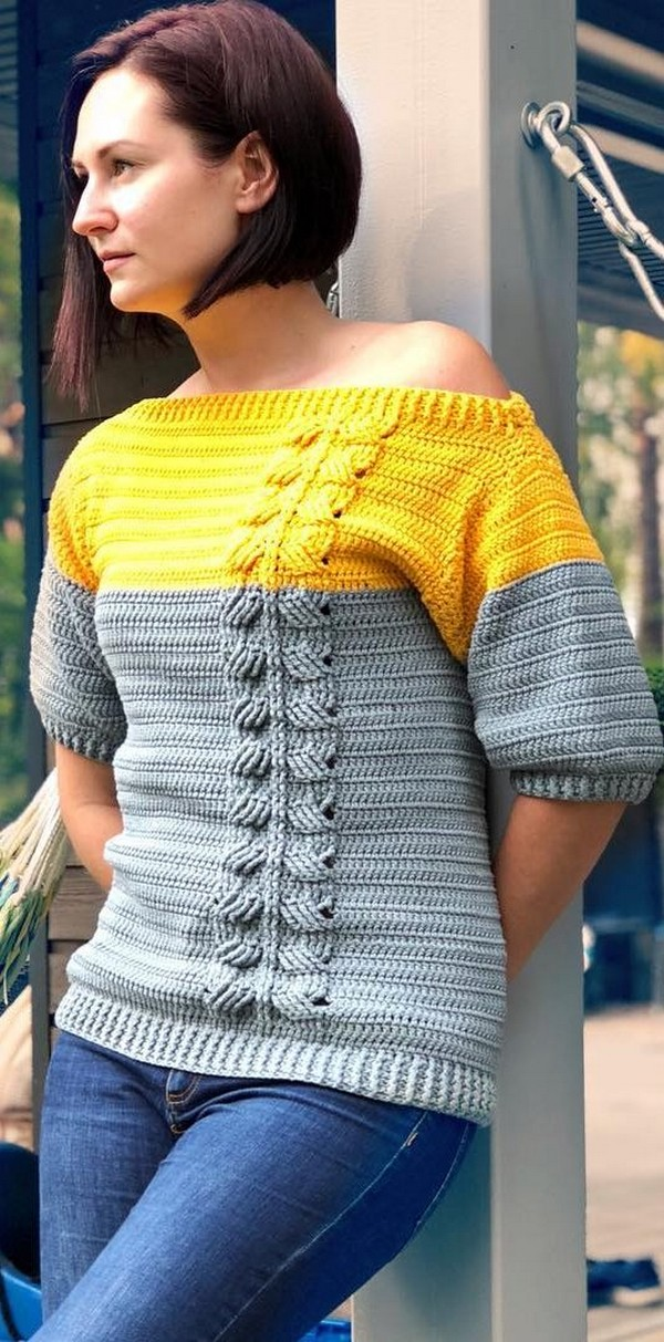 Simple Crochet Your First Sweater