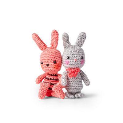 Solid Crochet Bunny Free Pattern