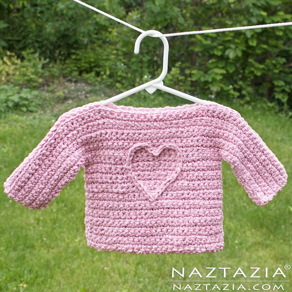 T Sweater Free Baby Crochet Pattern