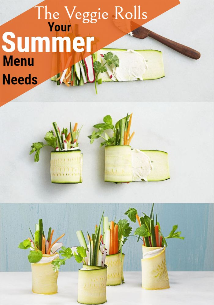 The Veggie Rolls Your Summer Menu Needs