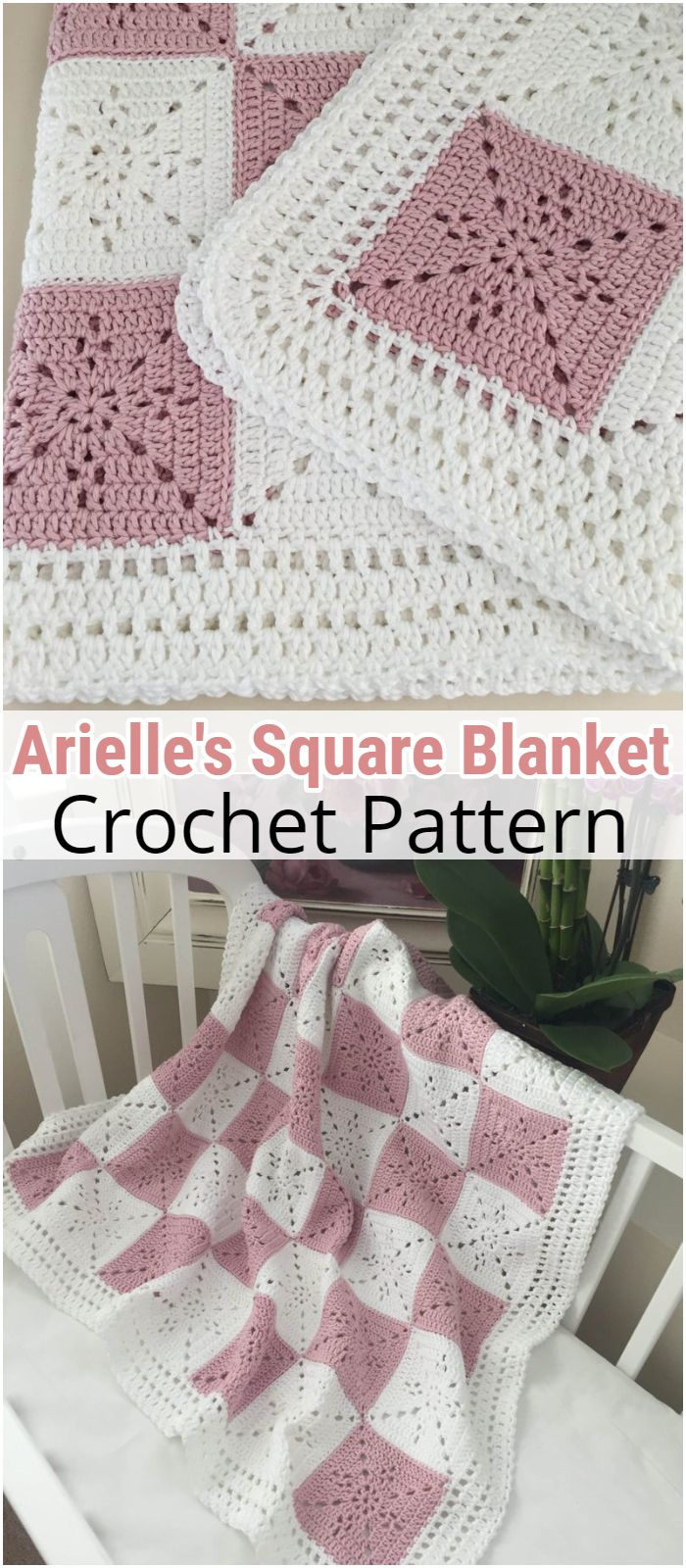 Arielle's Square - Baby Blanket