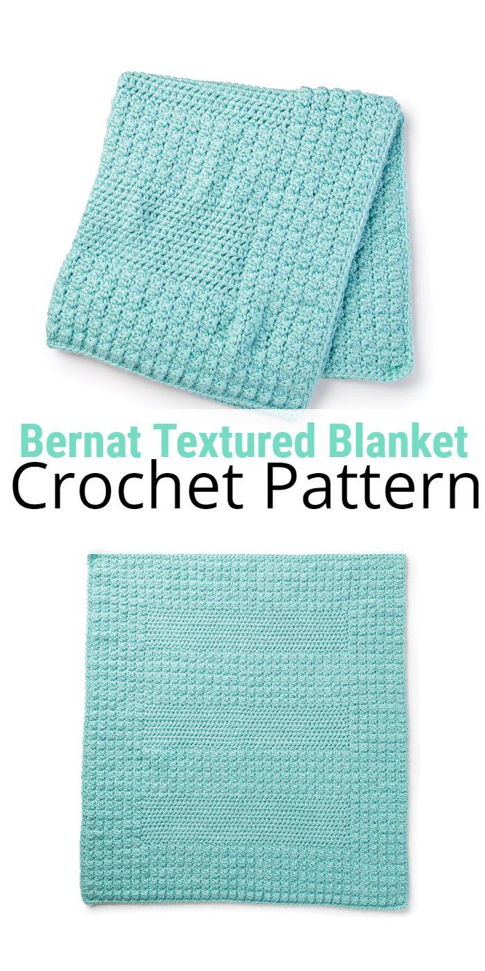 Bernat Textured Blanket
