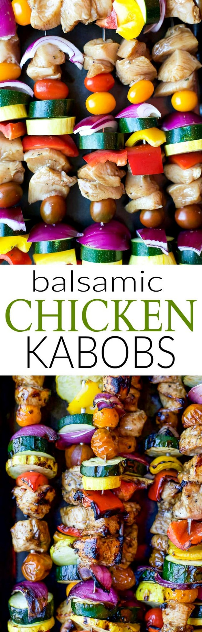 Balsamic Chicken Kabobs Recipe