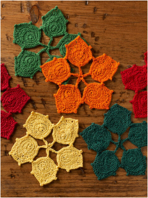Colorful Free Crochet Coaster Patterns To Brighten Up Your Home