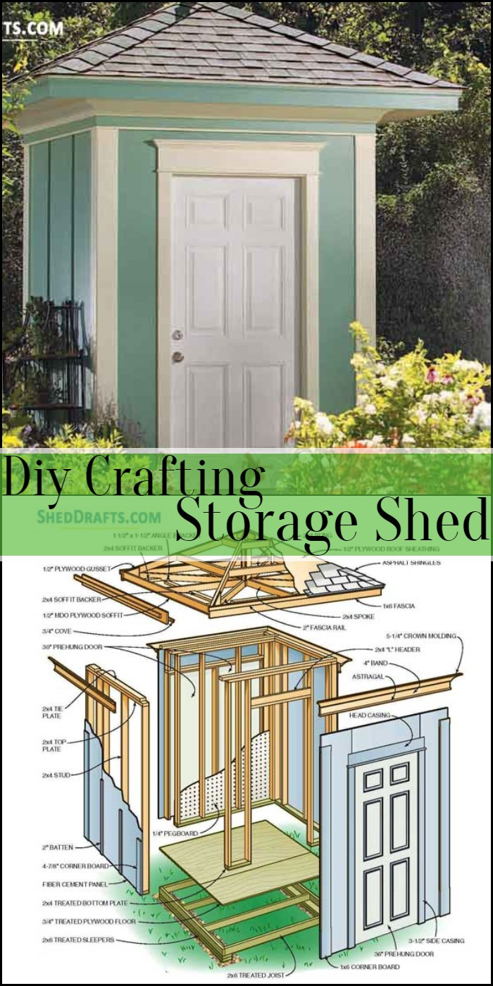 Diy Crafting Storage Shed