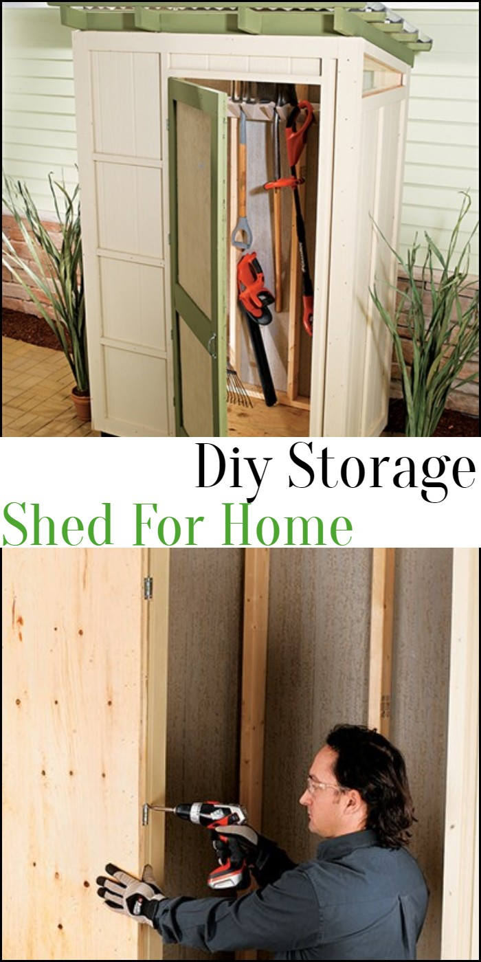 Diy Storage Shed For Home