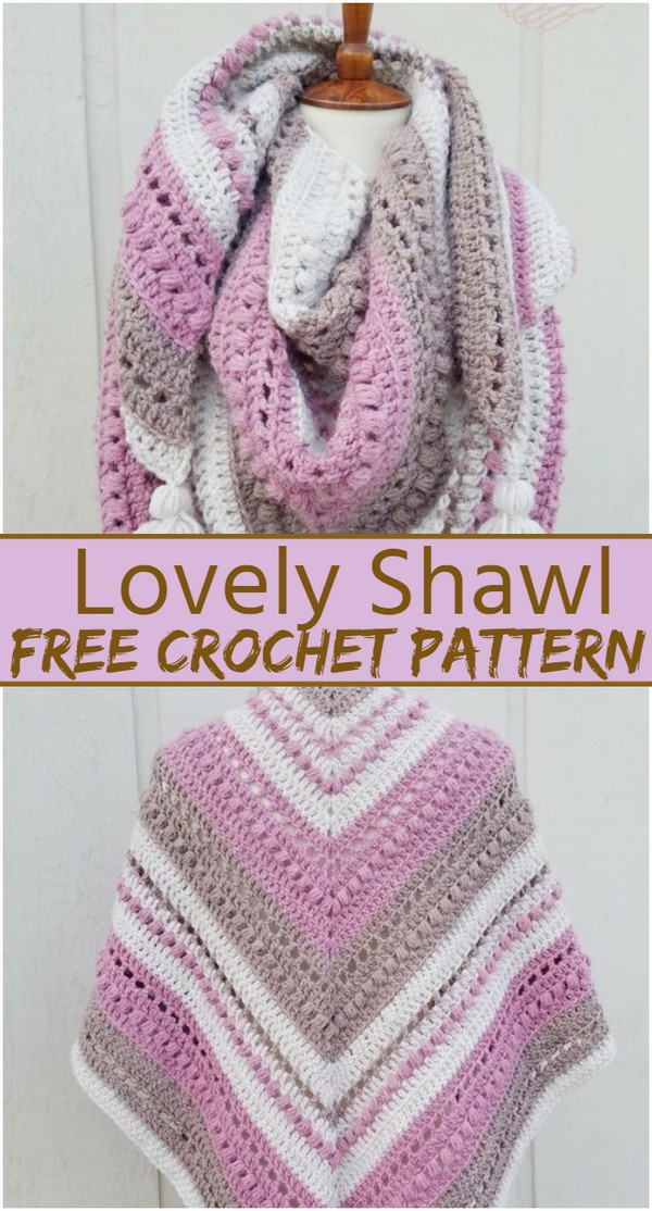 Lovely Crochet Shawl Pattern