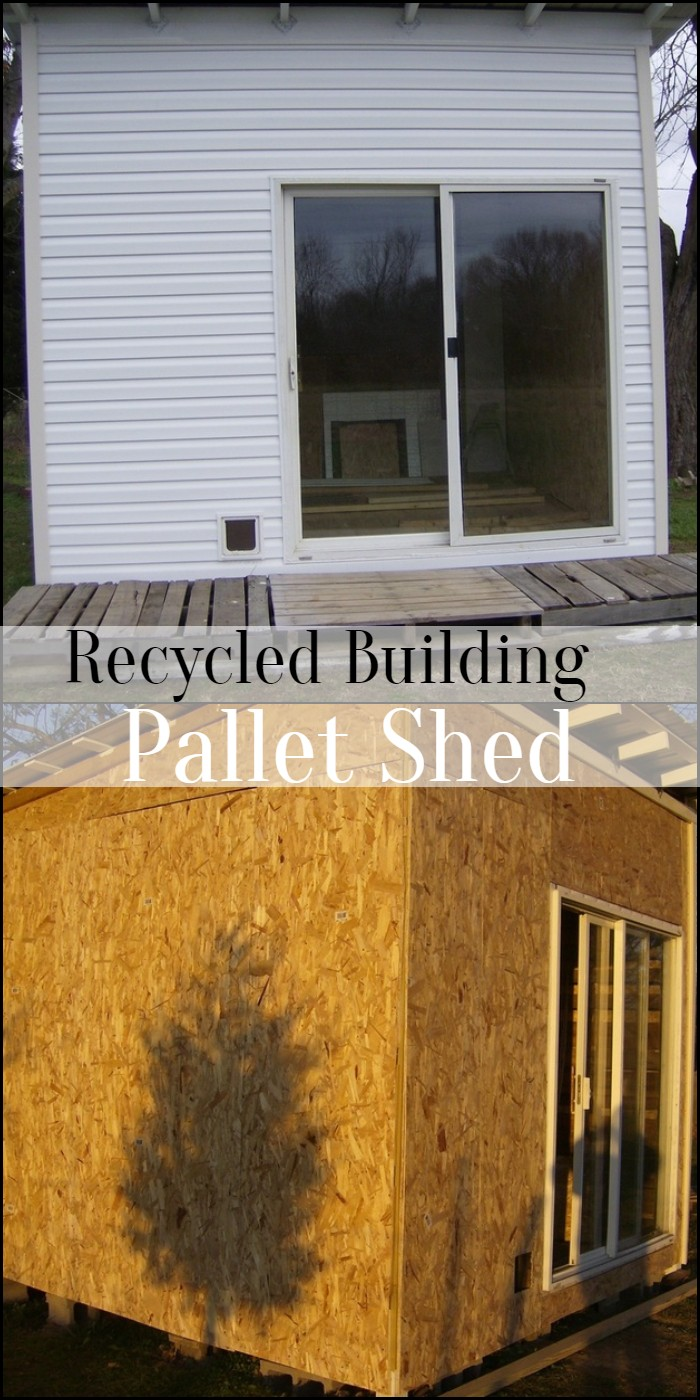 Recycled Building Pallet Shed