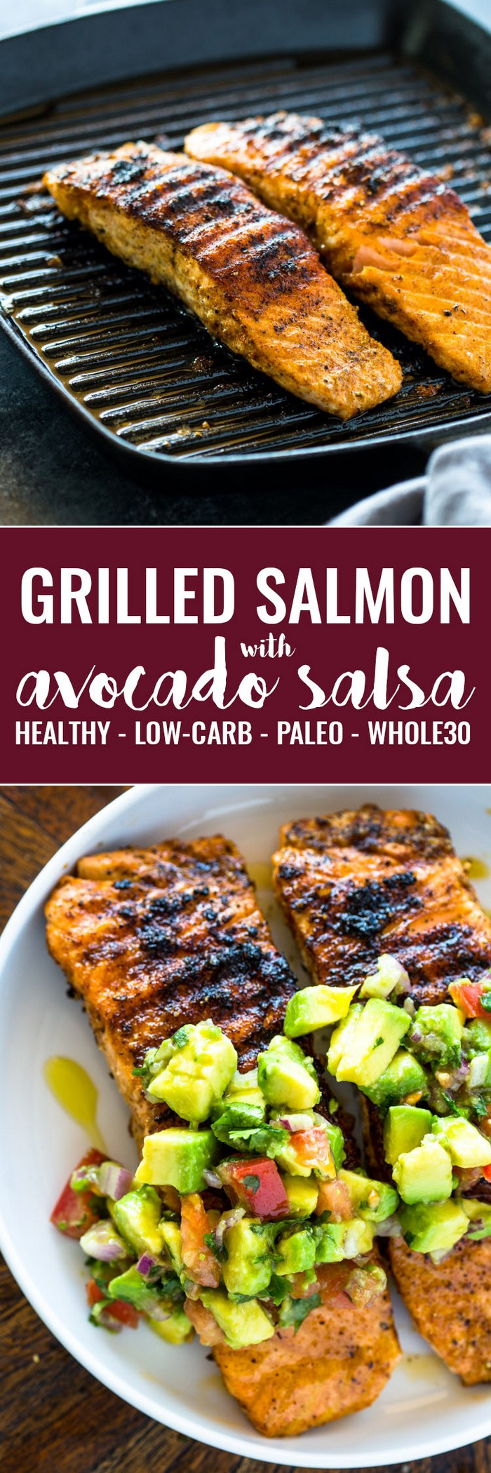 Salmon With Avocado Salsa Delicious Recipe