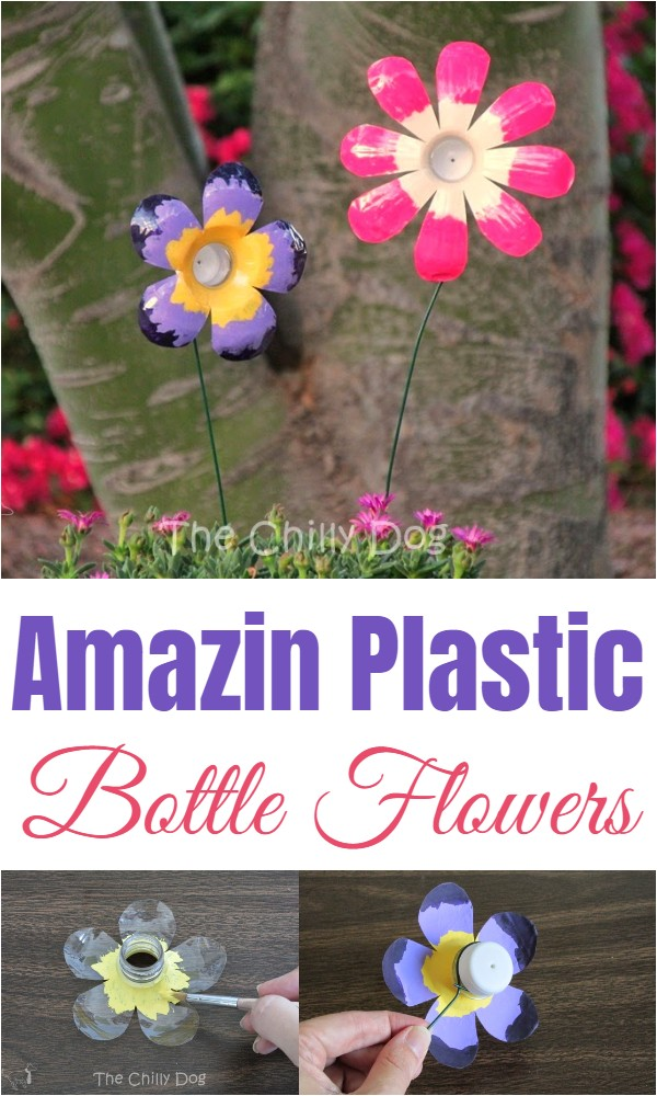Amazin Plastic Bottle Flowers