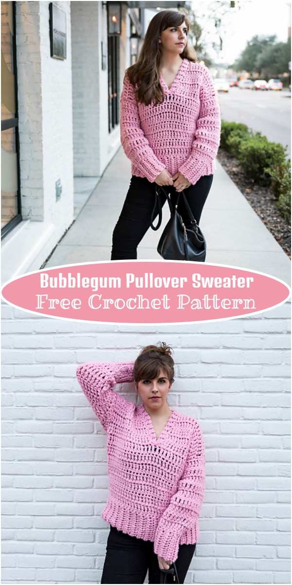 Bubblegum Pullover Sweater