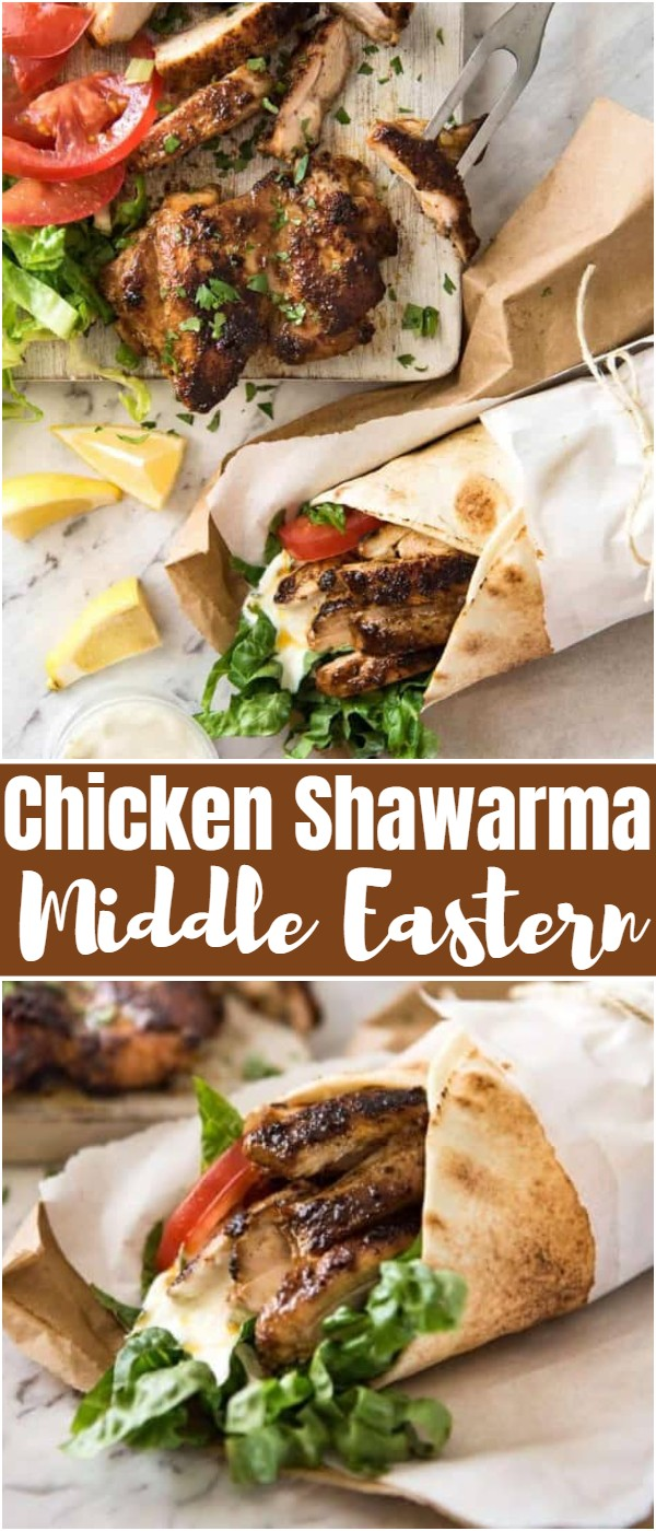 Chicken Shawarma Middle Eastern