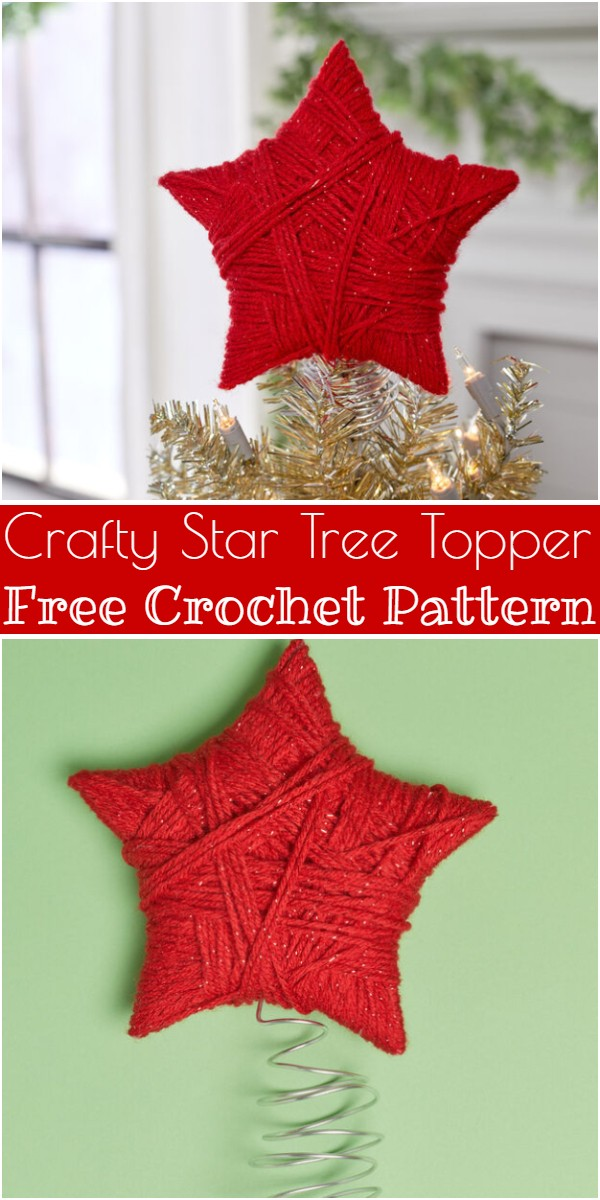 Crafty Star Tree Topper