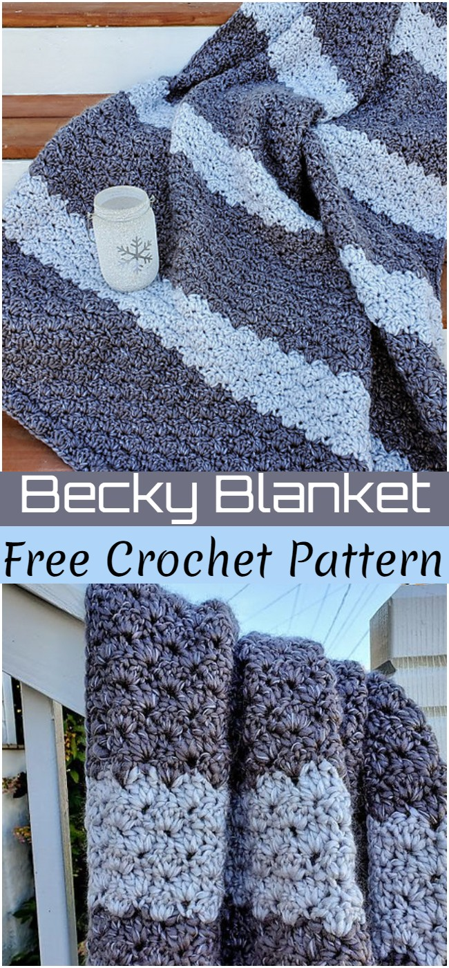 Crochet Becky Blanket Pattern