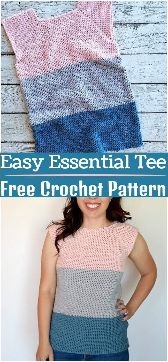 Crochet Easy Essential Tee Pattern