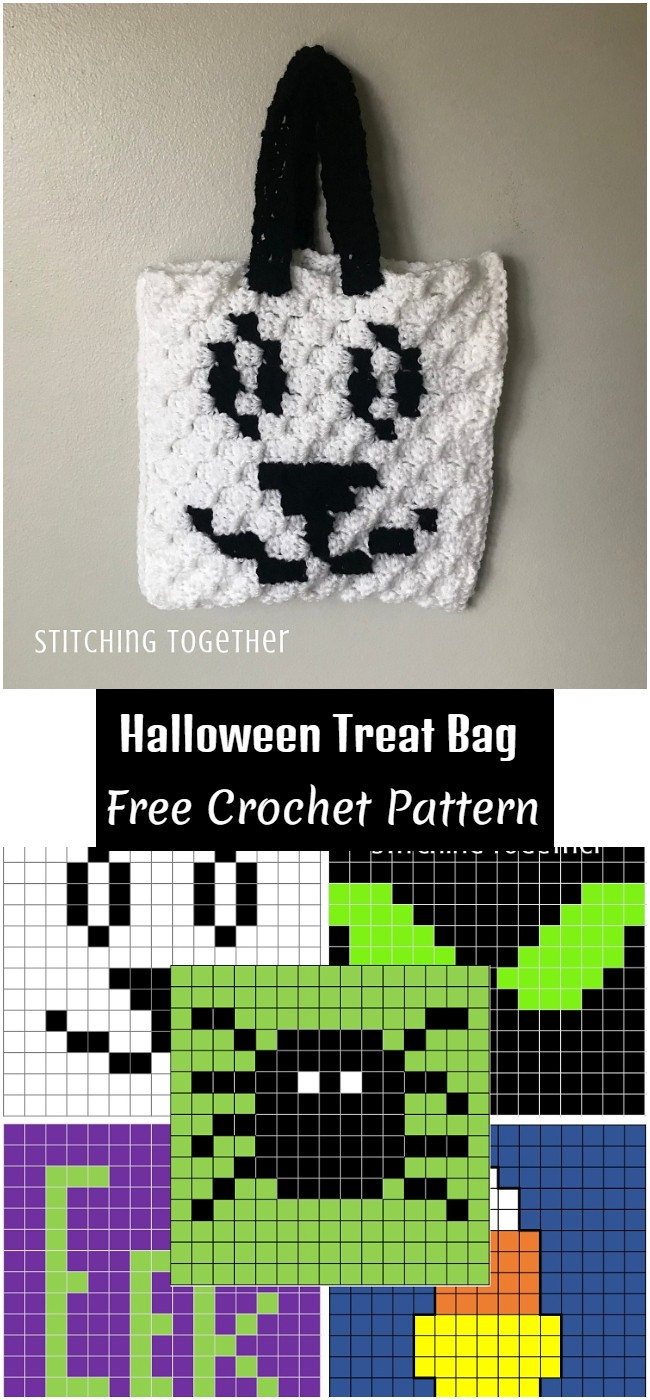 Crochet Halloween Treat Bag Pattern
