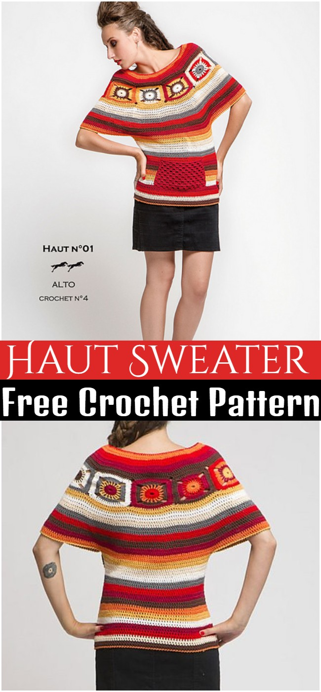 Crochet Haut Sweater Pattern