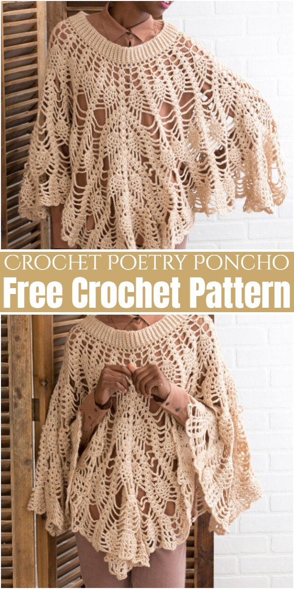 Crochet Poetry Poncho