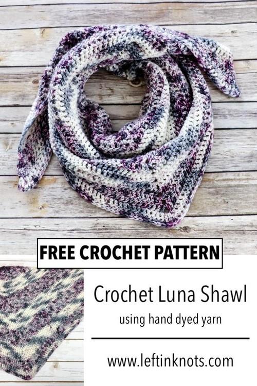 Crochet Shawl Scarf Pattern