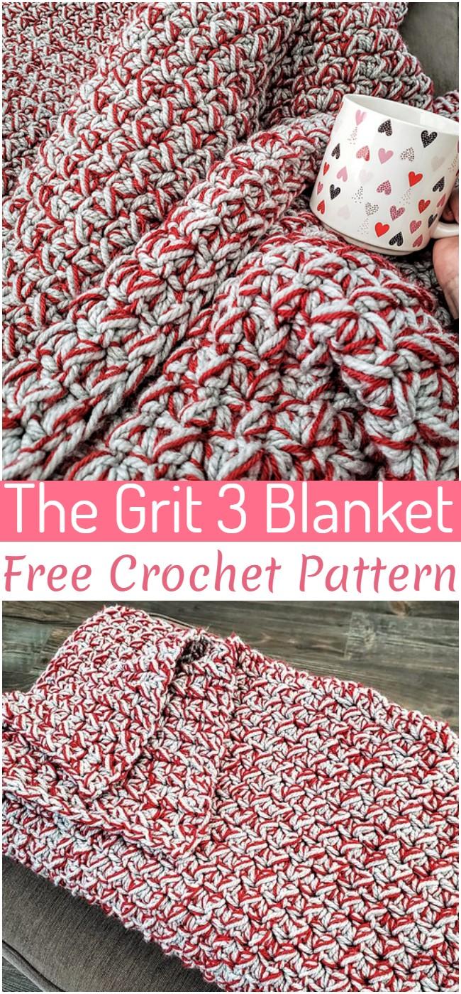 Crochet The Grit 3 Blanket Pattern