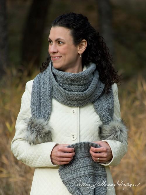 Crochet Twilight Winter Scarf Pattern