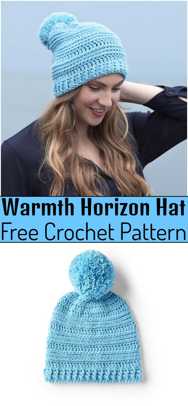 Crochet Warmth Horizon Hat Pattern