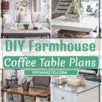 DIY Farmhouse Coffee Table Plans 1